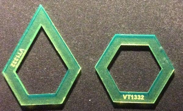 "Jewel Hexagon iSpy 3/4"""