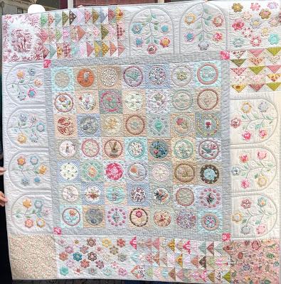 Fleur patroon + Mallenset