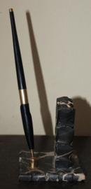 Art Deco penhouder met pen