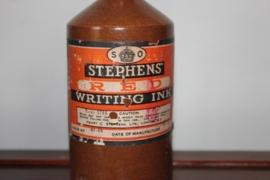 schrijvers inkt flessen