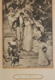 Off for the Honeymoon; ca 1900