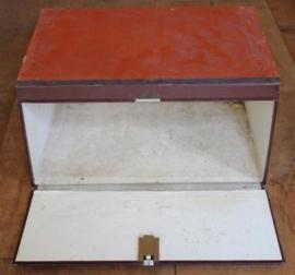 Oude archief dozen