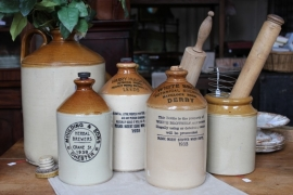 Brewery bottles