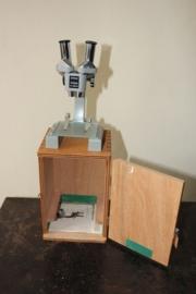 Oude School Microscoop