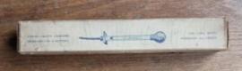 Oude accuzuur meter in originele doos