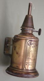 Oude explosievrije wijnkelder brander