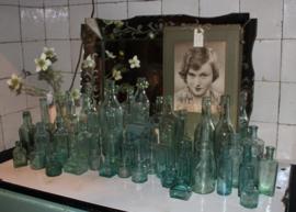 diverse oude flesjes