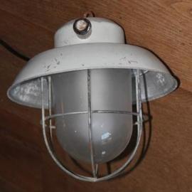 klein industrieel metalen draad lampje
