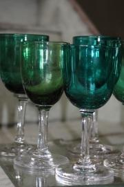 Antieke Engelse glaasjes
