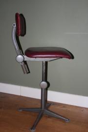 Industriële vintage bureau stoel