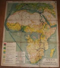 Landkaart  Africa Commercial Development
