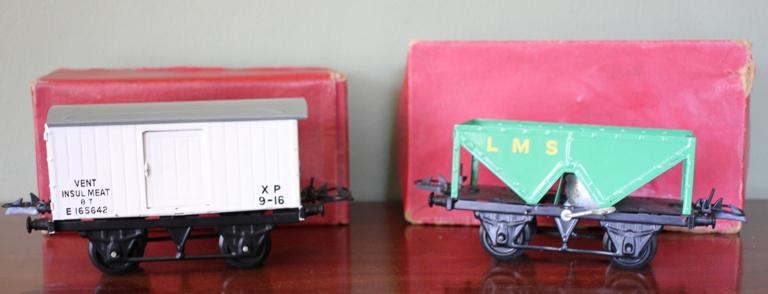 """Hornby"" wagon in originele verpakking"
