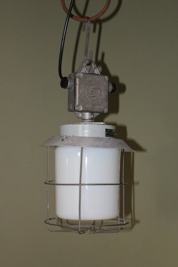 Kleine Industiele Draadglas lampen
