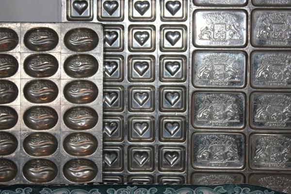 Metalen Chocolade vormen