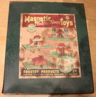 """Metalen """"magnetic toys"""" bouwdoos"""