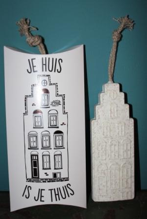 Amsterdamse gevel Zeep in leuke verpakking