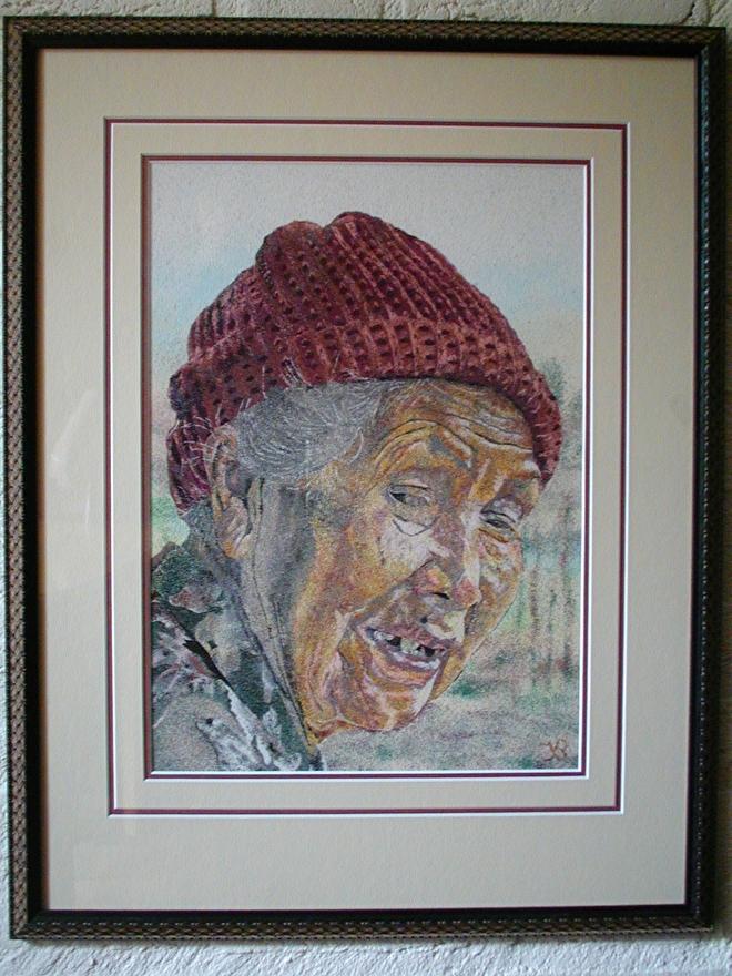 Gezandschilderd portret