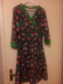 Overslag jurk, maat 40