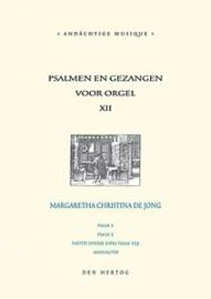 Jong, Margreet C. de - Psalmen en gezangen deel 12