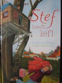 Knegt, Suzanne - Stef heeft lef!