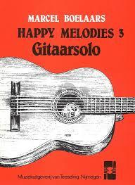 Boelaars, Marcel - Happy melodies 3 Gitaarsolo