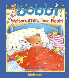 Maas, Monica - Welterusten, lieve Bobbi + knuffeldoekje
