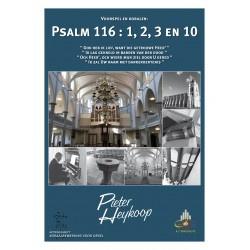 Heykoop, Pieter - Voorspel en koraal Psalm 116 vers 1,2,3 en 10 KLAVARSCRIBO