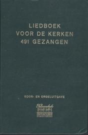 Liedboek voor de kerken, 491 gezangen (KLAVARSKRIBO)