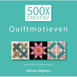 Goldsworthy, Lynne & Kerry Green - 500X Creatief Quiltmotieven