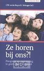 Berg, C.P.W. van den & G.J. Verbruggen (red) - Ze horen bij ons?!
