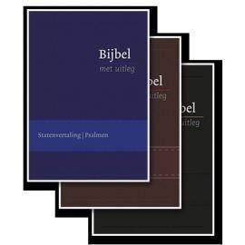 BMU Flexibele band in cassette met goudsnede; kleur blauw