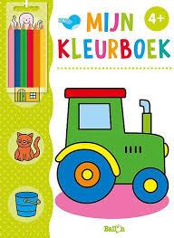 Mijn kleurboek, Tractor 4+