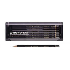 Tombow Mono 100 assorti potloden 4H-6B
