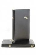 KTB 33 Zwart Bonded Leather  - met rits