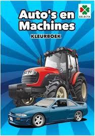Kleurboek Auto's en machines