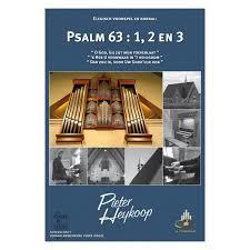 Heykoop, Pieter - Elegisch voorspel en koraal Psalm 63 vers 1,2 en 3 (klavarscribo)