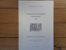Jong, Margaretha Christina de - Praeludium en Partite Diverse Sopra Psalm 86