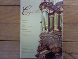 Compositie - Vier bewerkingen voor orgel
