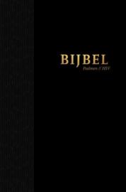 Bijbel HSV met psalmen zwart (12x18 cm)