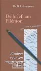 Kempeneers, Ds. M.A. - De brief aan Filémon