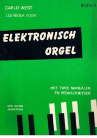 West, Carlo - Leerboek voor elektronisch orgel, boek 3 (notenschrift)