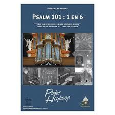 Heykoop, Pieter - Voorspel en koraal Psalm 101 vers 1 en 6 (notenschrift)