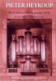 Heykoop,  Pieter - Koraalbewerking Psalm 25 vers 8 (klavarscribo)