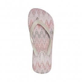 Ilse Jacobsen slippertjes - roze print