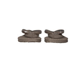 Ilse Jacobsen slippertjes grijs met steentjes