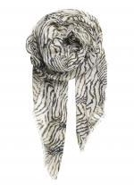 Beck Sondergaard - sjaal met gevlamde print