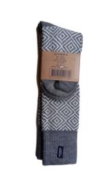 Holebrook sokken visgraat- blauw