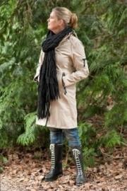 Ilse Jacobsen sjaal - zwart
