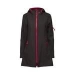 Ilse Jacobsen jas -  zwart met rode details