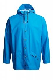 RAINS jacket - cobalt blauw